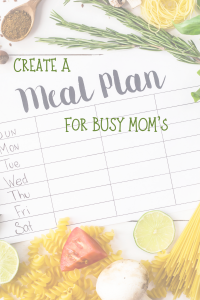 An image of a meal plan surounded by a variety of food.